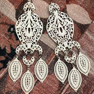 Anthropologie large earrings